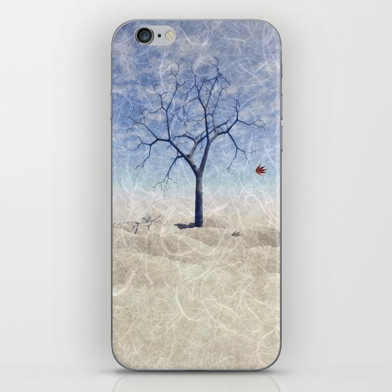 When the last leaf falls iPhone & iPod Skin