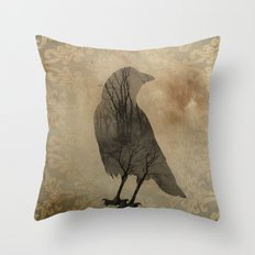 Old Light Throw Pillow