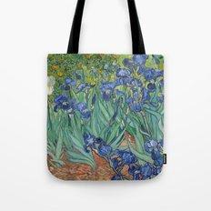 Irises - Vincent Van Gogh Tote Bag