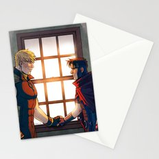 William and Theodore 32 Stationery Cards