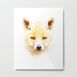 Cute Little Fox Terrier Metal Print