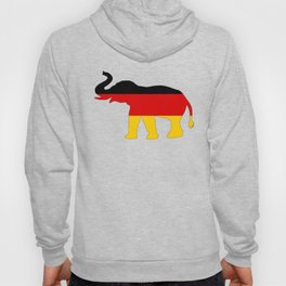German Flag - Elephant Hoody