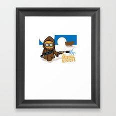 Original critters Framed Art Print