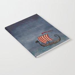 Sea Serpent & Viking Longboat Notebook