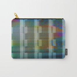 Analogue Glitch Rainbow Blocks Carry-All Pouch