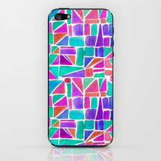Watercolour Shapes iPhone & iPod Skin