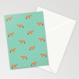 Jerseys // Green & Teal Stationery Cards