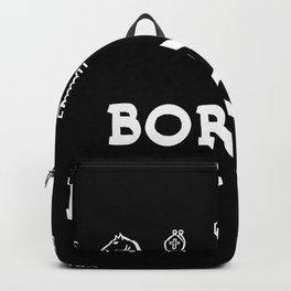 Born To Play Chess Backpack