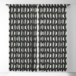 geo six-celadon Blackout Curtain