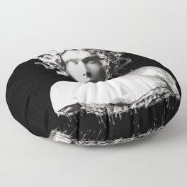Silver Medusa Floor Pillow
