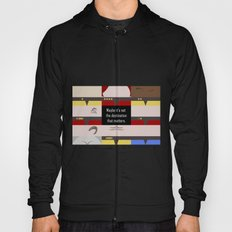 Maybe it's not the Destination that matters - Star Trek: Voyager VOY startrek trektangle minimalist Hoody