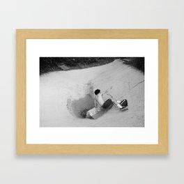Palisades Bowl 2 Framed Art Print