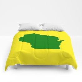 Wisconsin Football Comforters