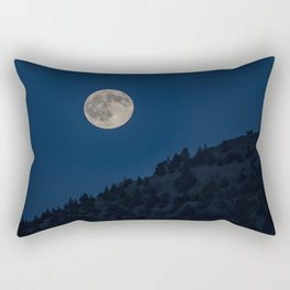 High Desert Moon Rectangular Pillow