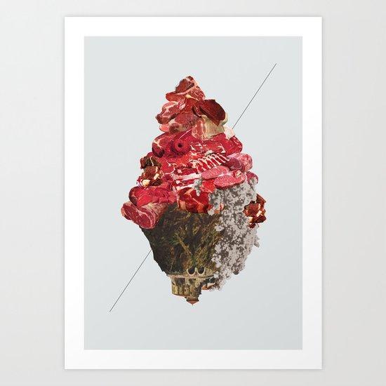 Solid things 6 Art Print