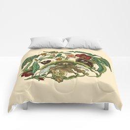 Botanical English Bulldog Comforters