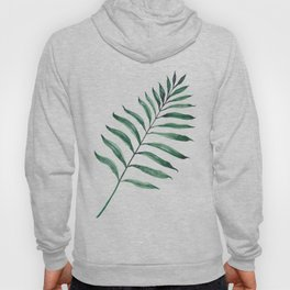 Tropical Greenery - Palm Tree Leaf Hoody