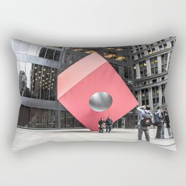 ArtWork New York City Black and Colour Rectangular Pillow