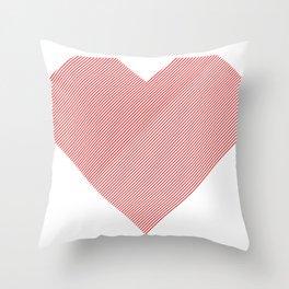 hart /red/ Throw Pillow