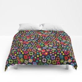 dp065-8 floral pattern Comforters