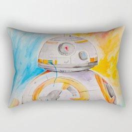 BB8 watercolor painting Rectangular Pillow