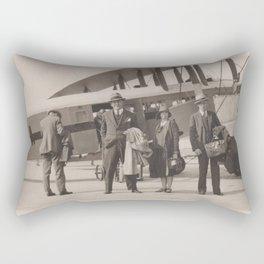 Business As Usual Rectangular Pillow