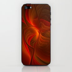 Warmth, Abstract Fractal Art iPhone & iPod Skin
