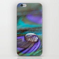 Jewel on Feathers iPhone & iPod Skin