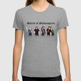 Shirts of Shakespeare T-shirt