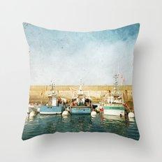 Houat #6 Throw Pillow