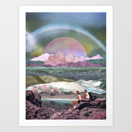 Dream afternoon Art Print
