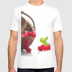 Fresh fruity Decorating White MEDIUM Mens Fitted Tee