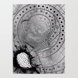 Fragmented Fractal Memories and Shattered Glass Poster