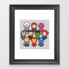 Assemble! Framed Art Print
