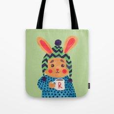 Winter Season is Coming (Rabbit Version) Tote Bag