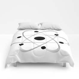 Atomic Mass Structure 6 Comforters