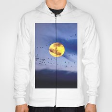 On a left along the moon and further to the east. Hoody
