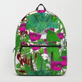 Vintage Pepper + Flower Garden Backpack