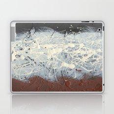 Cool Pollock Rothko Inspired Black White Red Abstract - Modern Art Laptop & iPad Skin