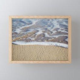 Foamy Line Framed Mini Art Print