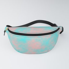 Cotton Candy Clouds - Pink & Blue Fanny Pack