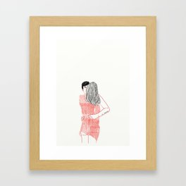 LOVER Framed Art Print