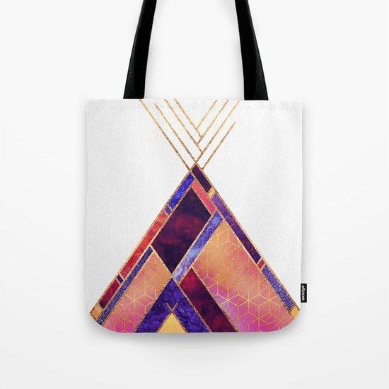 Tipi Mountain Tote Bag