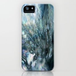 Sea Dog Abstract iPhone Case