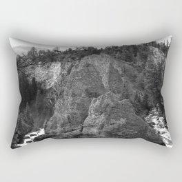 Around Th Bend - Tower Creek Rectangular Pillow