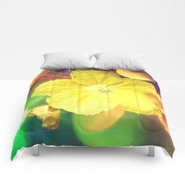 Secret Garden | Cucumber flower Comforters