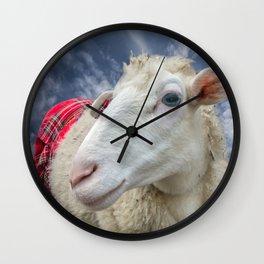 Beautiful sheep Wall Clock