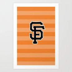 SF Giants Art Print