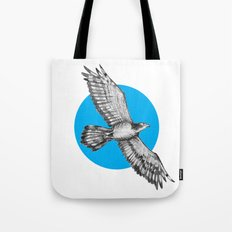 Flying Hawk Tote Bag
