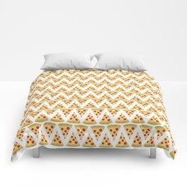 Pizza Pattern Comforters